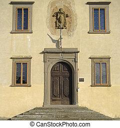 Medici Villa in Cerreto Guidi near Florence...
