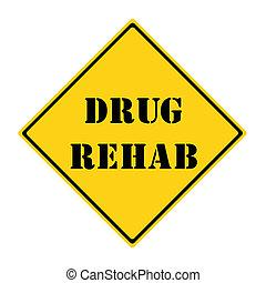 medicijn, rehab, meldingsbord