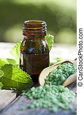 medicin, alternativ, naturlig