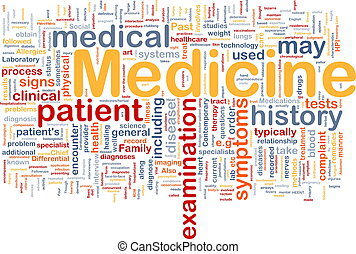 medicin, begreb, sundhed, baggrund