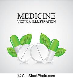 medicin, design