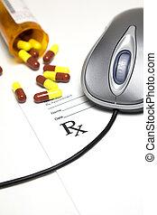 medicin, online