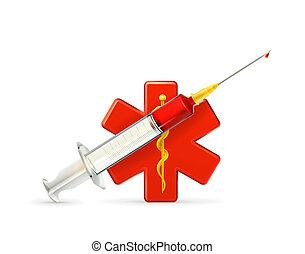 medicina, ícone