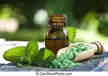 medicina, alternativa, natural