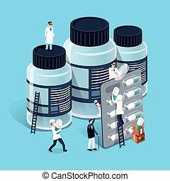 medicina, amministrazione, concetto