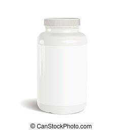 Medicina, botella