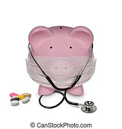 medicina, custos, tratamento, cuidados de saúde