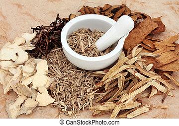 medicina erbe, cinese
