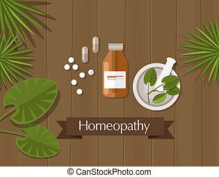 medicina herbácea, alternativa, homeopatia, natural
