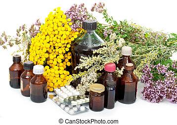 medicina herbácea