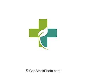 medicina herbaria, concepto, logotipo