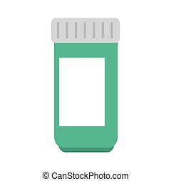 medicina, medico, bottiglia