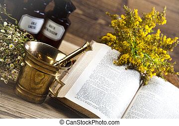 medicina naturale, naturale, colorito, tono