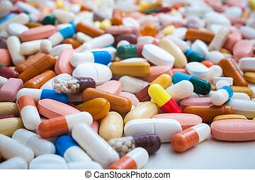 medicina, píldoras