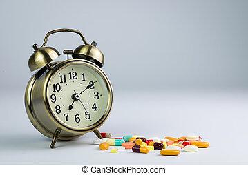 medicina, tiempo