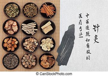 medicina tradicional, chinês