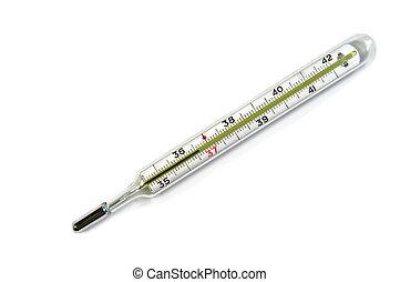 medicina tradicional, termómetro