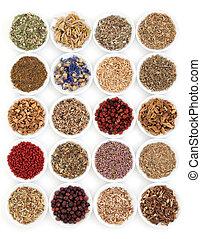 Medicinal and Magical Herbs - Herbal medicine selection also...