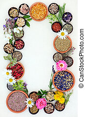 Medicinal Healing Herbs and Flowers - Medicinal flower and...