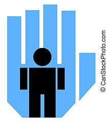 Medicinal icon - Creative design of medicinal icon
