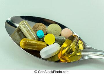 medicinal, tabletas
