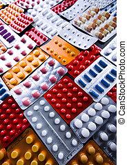 medicinas, colección