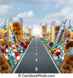 Medicine And Medication Concept - Medicine and medication...