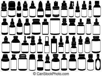 Medicine Bottle - Medicine bottle isolated on white