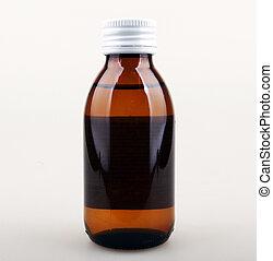 medicine bottle.