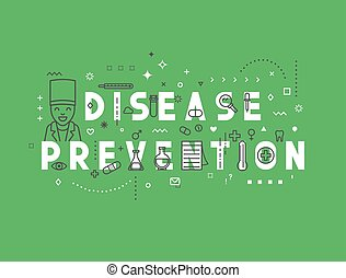 Medicine concept design disease prevention