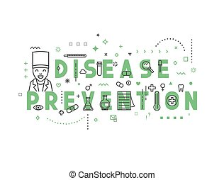 Medicine concept design disease prevention