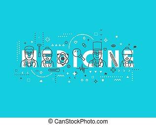 Medicine concept design.