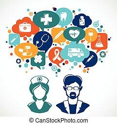 Medicine Concept Illustration