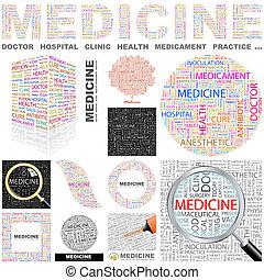 Medicine. Concept illustration.