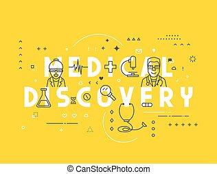 Medicine concept medical discovery
