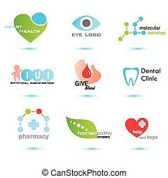 medicine emblems collection