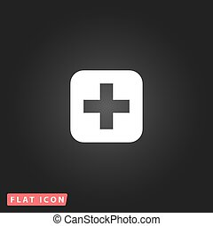 medicine flat icon