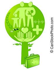 medicine health tree