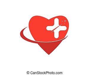 Medicine heart health icon
