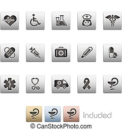 Medicine & Heath Care / Metalic