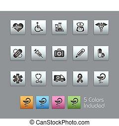 Medicine & Heath Care / SatinBox - The EPS file includes 5...
