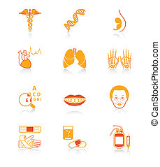 Medicine icons | JUICY series
