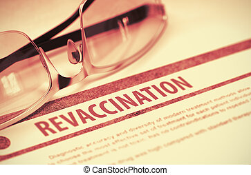 medicine., illustration., revaccination., 3