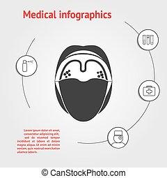 medicine infographic template - Medicine infographic...