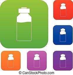 Medicine set color collection