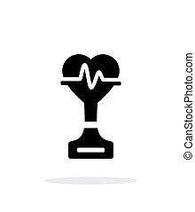 Medicine simple icon on white background.