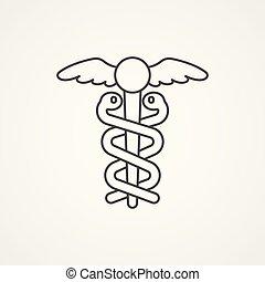 medicine vector icon sign symbol