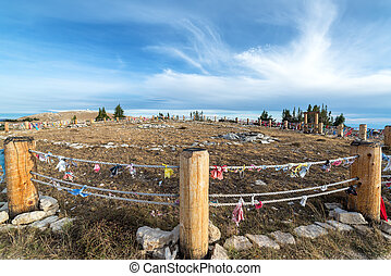 Medicine Wheel Wide Angle View - Wide angle view of Medicine...