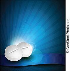 medicinsk, baggrund, hos, pillerne