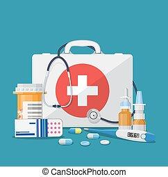 medicinsk begreb, omsorg
